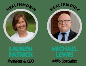 Lauren Patrick and Michael Lewis of Healthmonix
