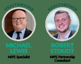 Michael Lewis and Robert Stoudt of Healthmonix